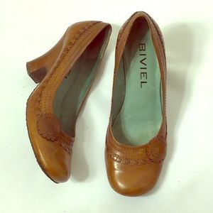 Anthropologie Biviel Spain Wedge Pump 8.5B